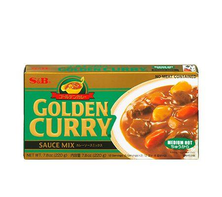 golden curry medium japan