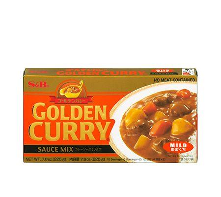golden curry mild japan
