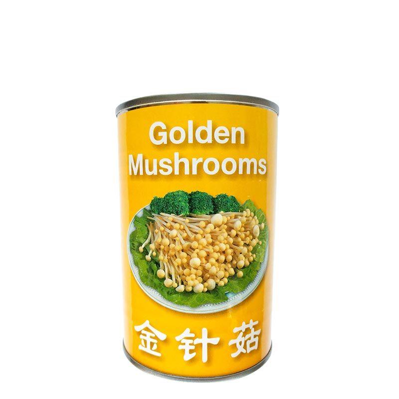 goldenmushroom-needlemushroom