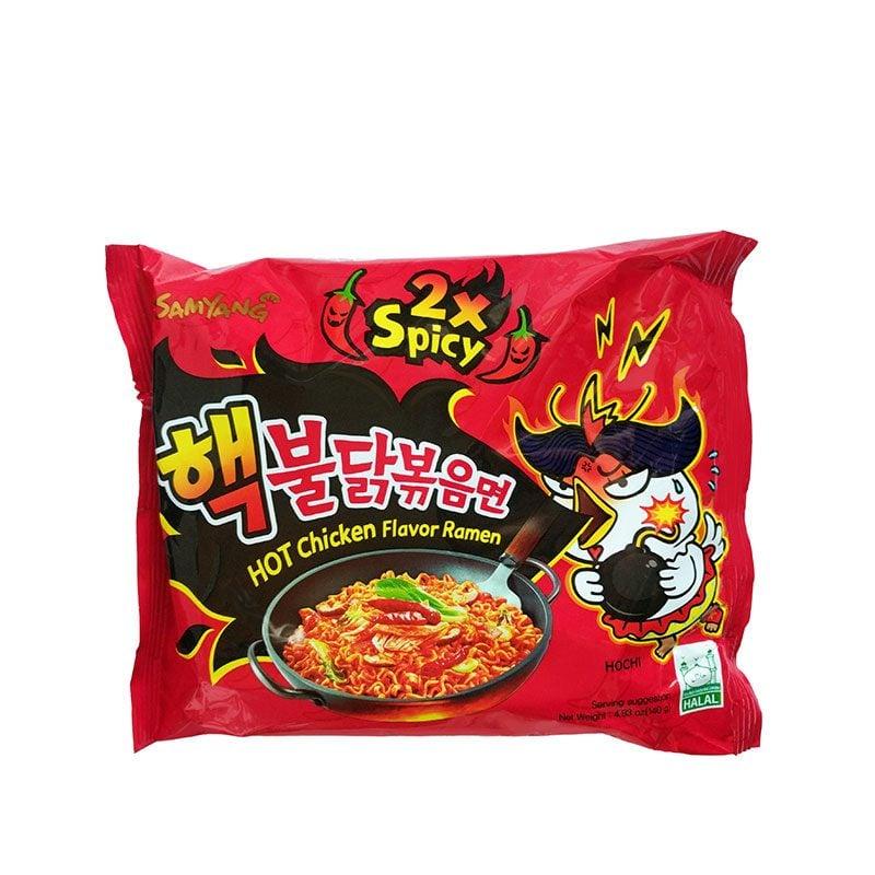 varldens-hetaste-nudlar Nuclear Fire Noodles. 2x spicy