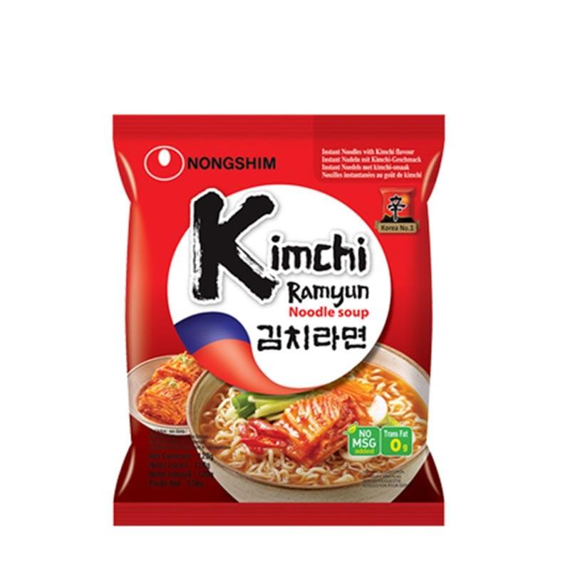 Kimchi-nudlar