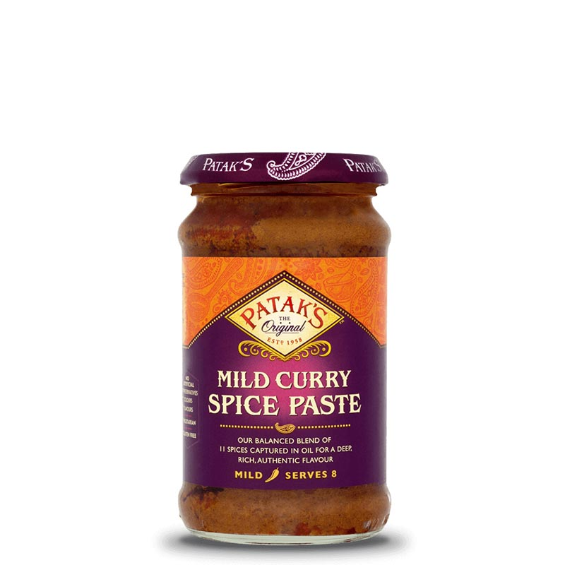 Mild-Currypasta