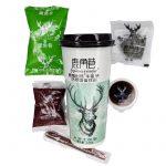 Bubble Milk Tea Matcha Mango med Azukiboba