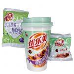 Bubble Milk Tea Taro med Azukiboba