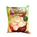 Cassava Chips, Majs (America Sweet Corn)