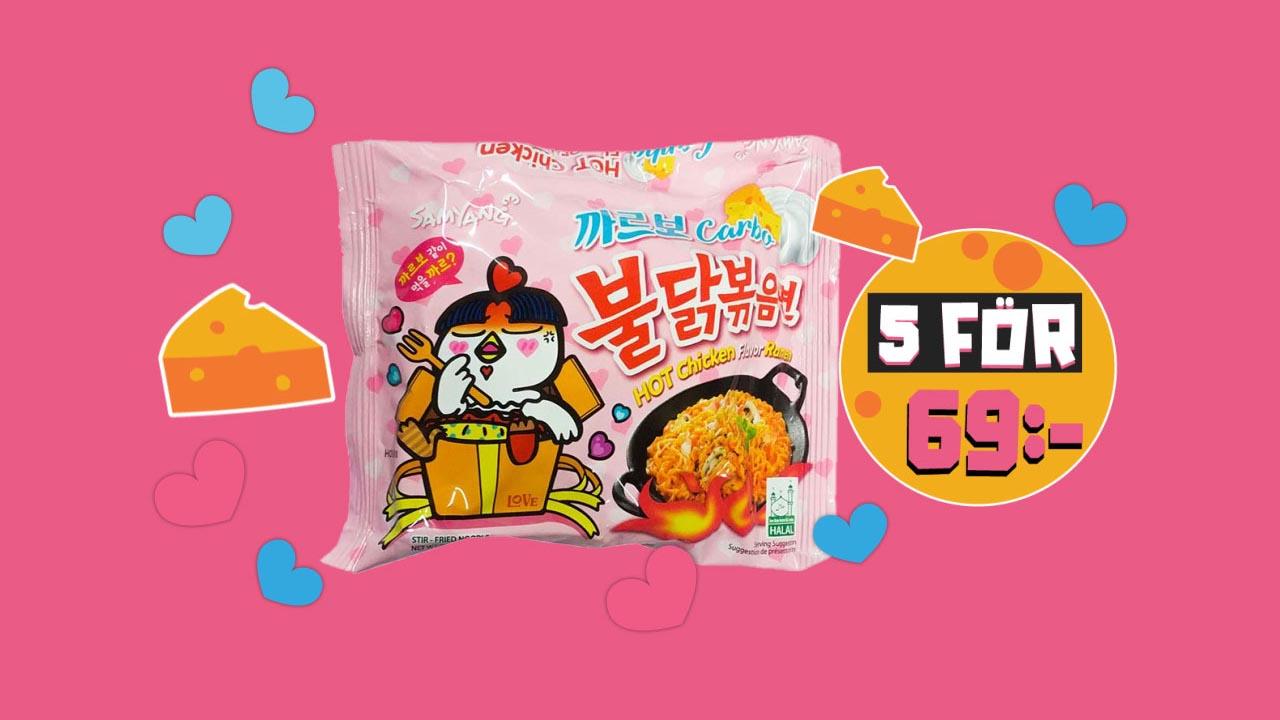 Koreansk Fusion! 5 för 69:-